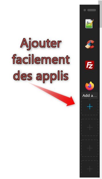 Le lanceur d'applications Switch